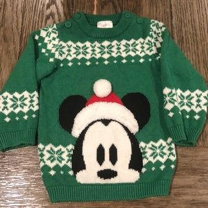 GUC Mickey Mouse Holiday Sweater